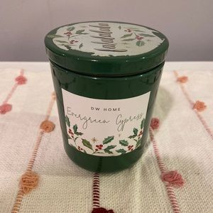 DW Evergreen Cypress Single Wick Candle